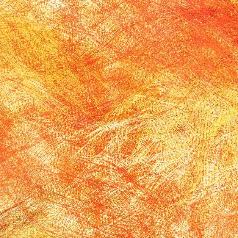 Orange Hintergrund stock abbildung