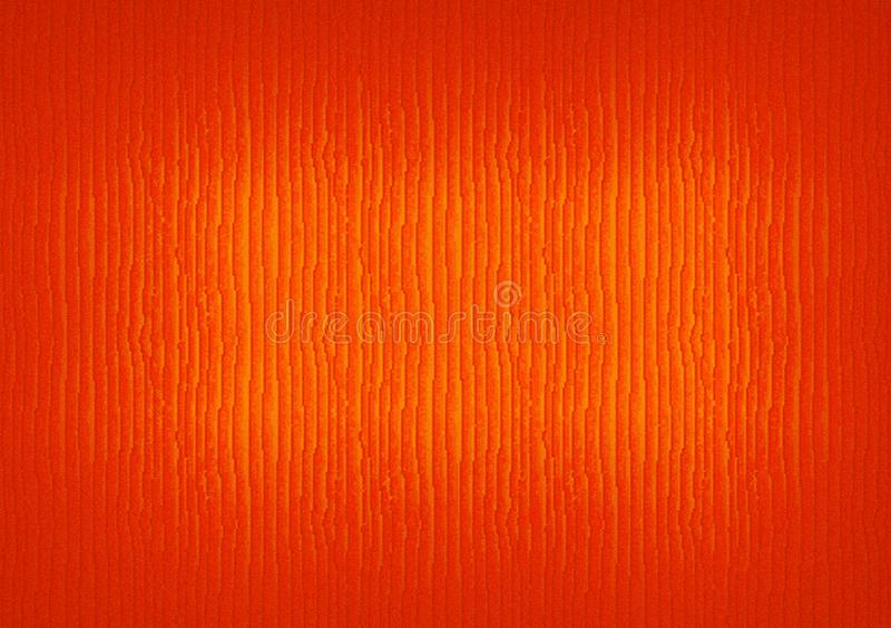 Orange Hintergrund mit gekrümmten Linien stockfoto