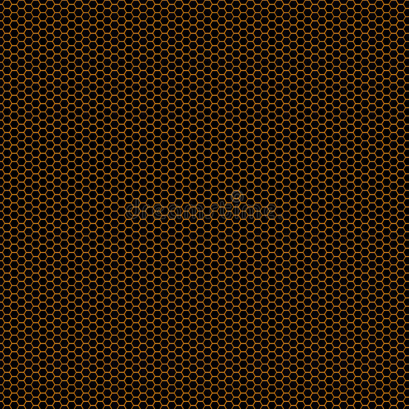 Download Orange Honeycomb Grid Background Stock Image - Image: 24283977