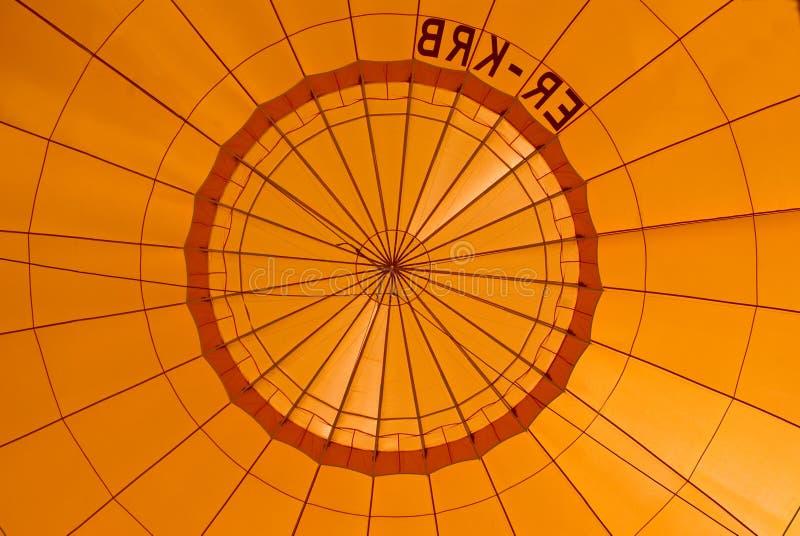 Download Orange hot air balloon stock image. Image of transportation - 14530309