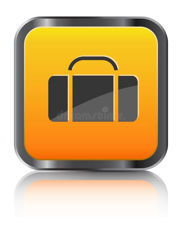 Download Orange icon luggage stock photo. Image of image, nobody - 15449752
