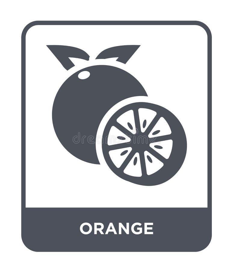 orange icon in trendy design style. orange icon isolated on white background. orange vector icon simple and modern flat symbol for stock illustration