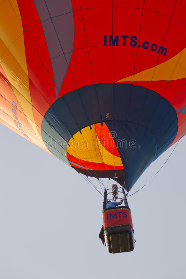 Download Orange IMTS Balloon In Sky Close Up Editorial Stock Image - Image: 26616764