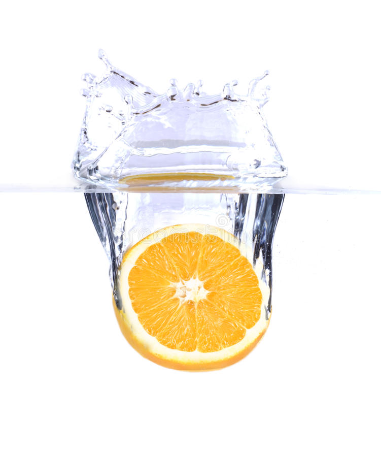 Free Orange In Water Stock Images - 9804384