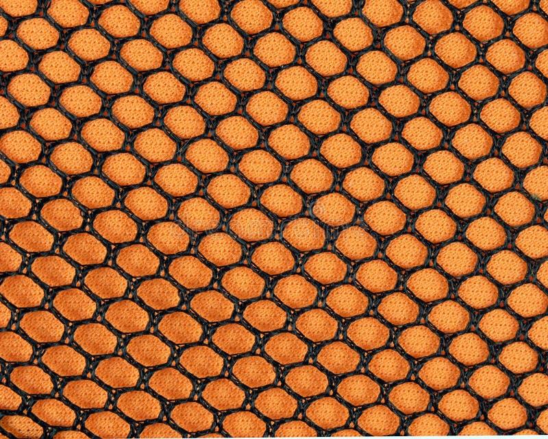 Orange Ineinander Greifen Stockfotos