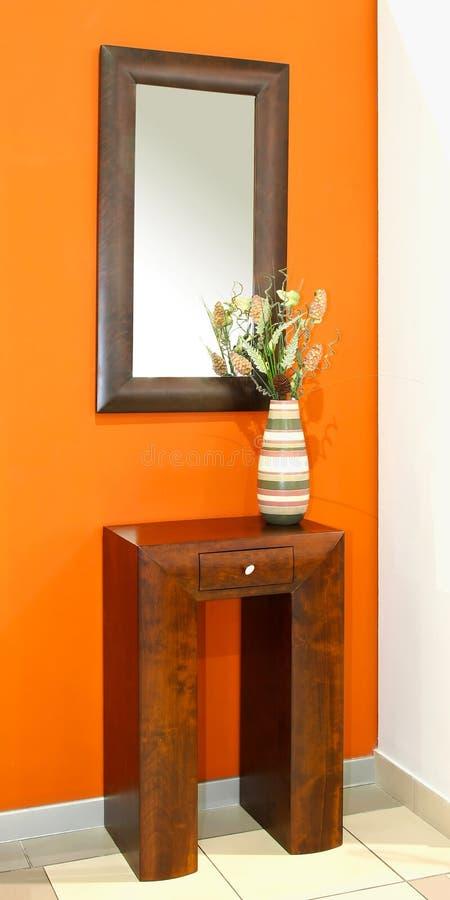 Orange Innenraum lizenzfreies stockfoto