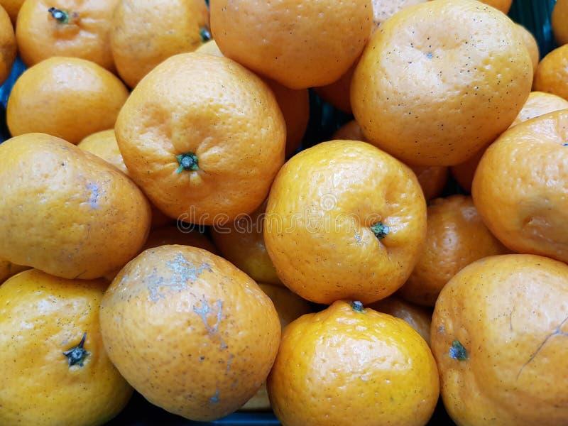 Orange ist eine Frucht, die wertvoll und für Gesundheit gut ist Es hat hohes Vitamin C lizenzfreies stockfoto
