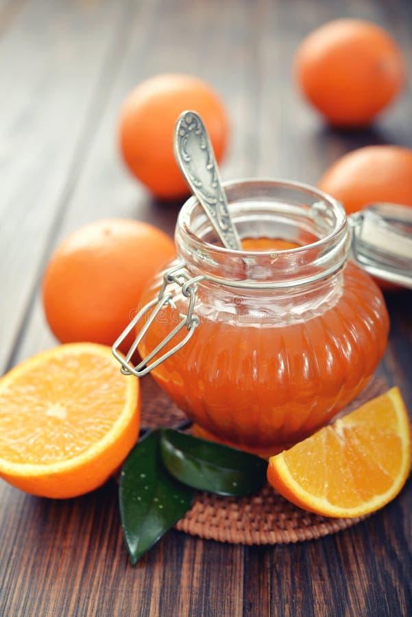 Download Orange jam stock photo. Image of glass, orange, ripe - 39174406