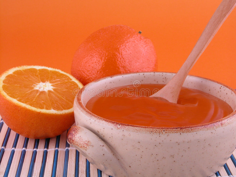 Download Orange Jelly Stock Image - Image: 517771