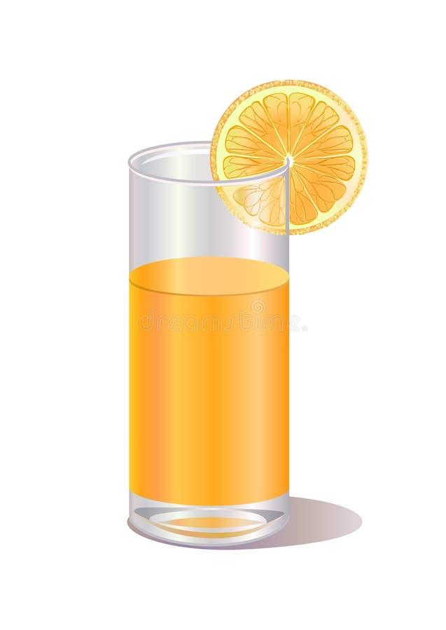 Orange juice stock illustration