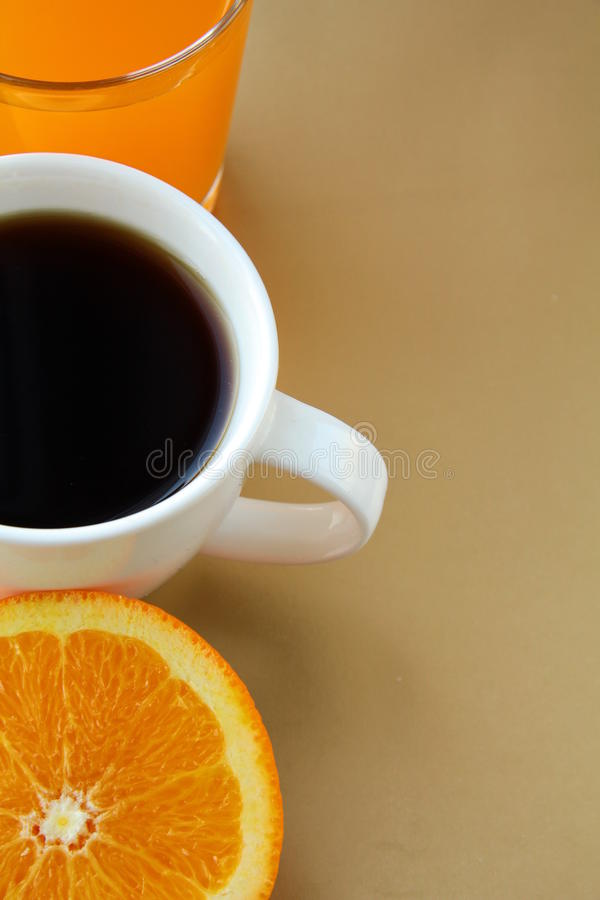 Free Orange, Juice And Toast With Orange Marmalade Stock Photo - 18083660