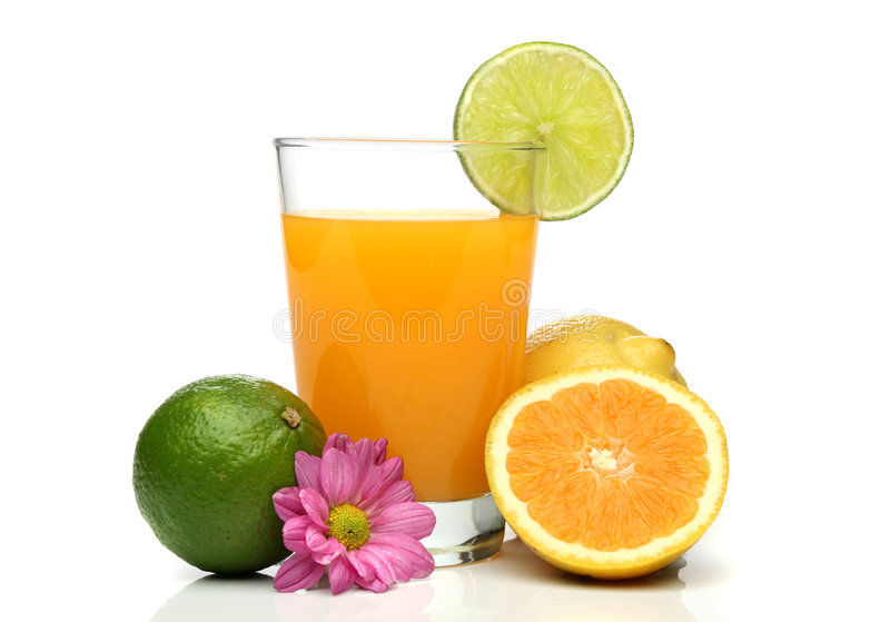 Download Orange juice with fruits stock photo. Image of summer - 2451252