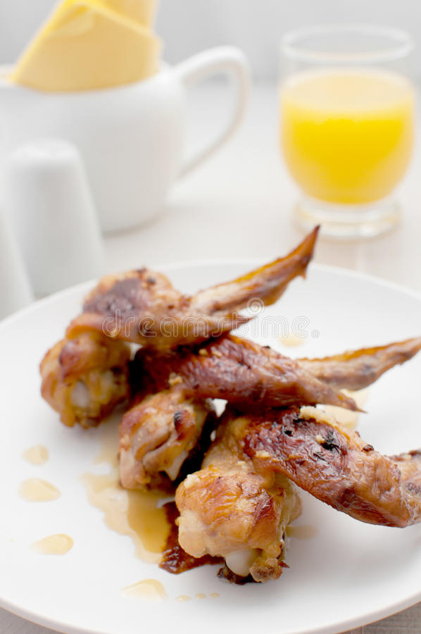 Download Orange Juice Glazed Chicken Wings Stock Images - Image: 26513774