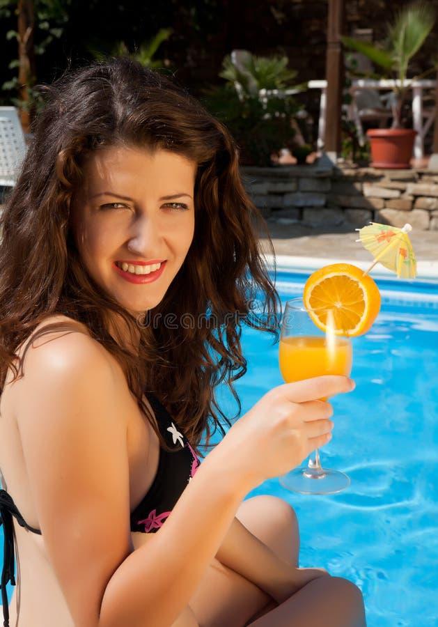 Download Orange Juice On A Hot Day Stock Image - Image: 24804241
