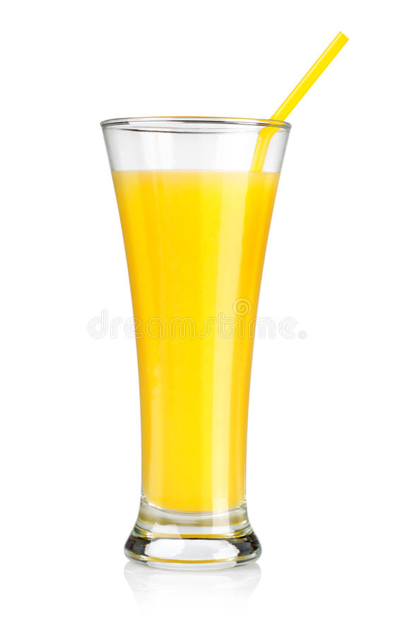 Orange juice isolated stock images