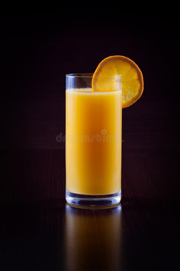 Free Orange Juice On Black Royalty Free Stock Image - 30327616