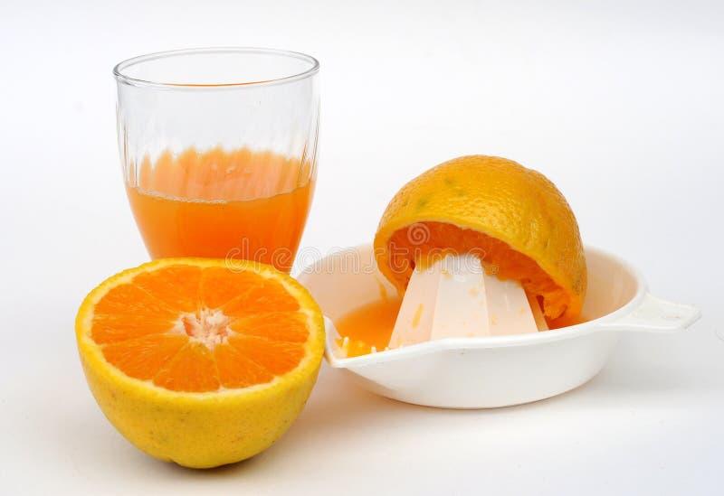 Orange Juice Set royalty free stock photo