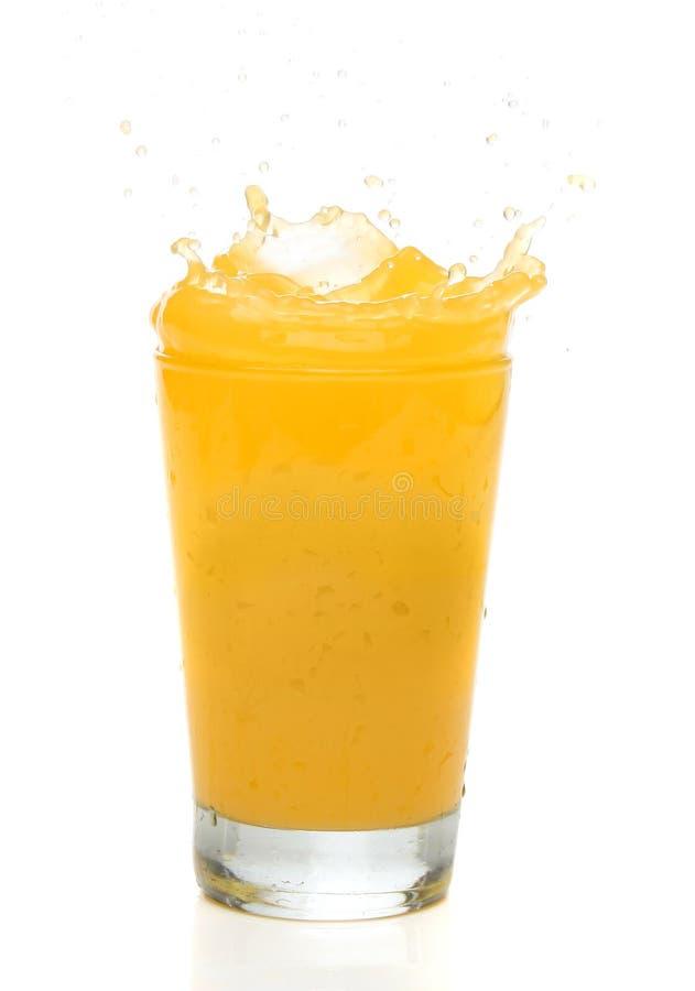 Free Orange Juice Splash Royalty Free Stock Image - 2451296