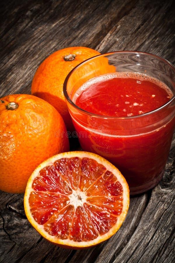 Orange Juice Tarot Stock Image