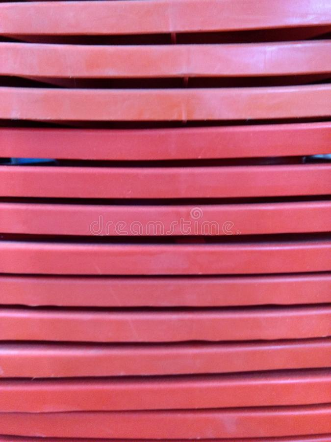 Orange Kegel stockbild