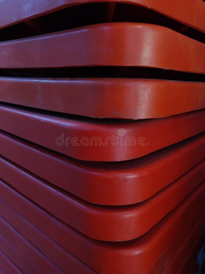 Orange Kegel stockfotografie