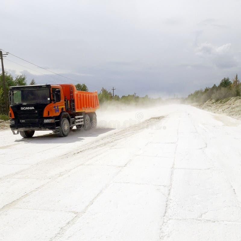 Orange Kipper Scania lizenzfreies stockfoto