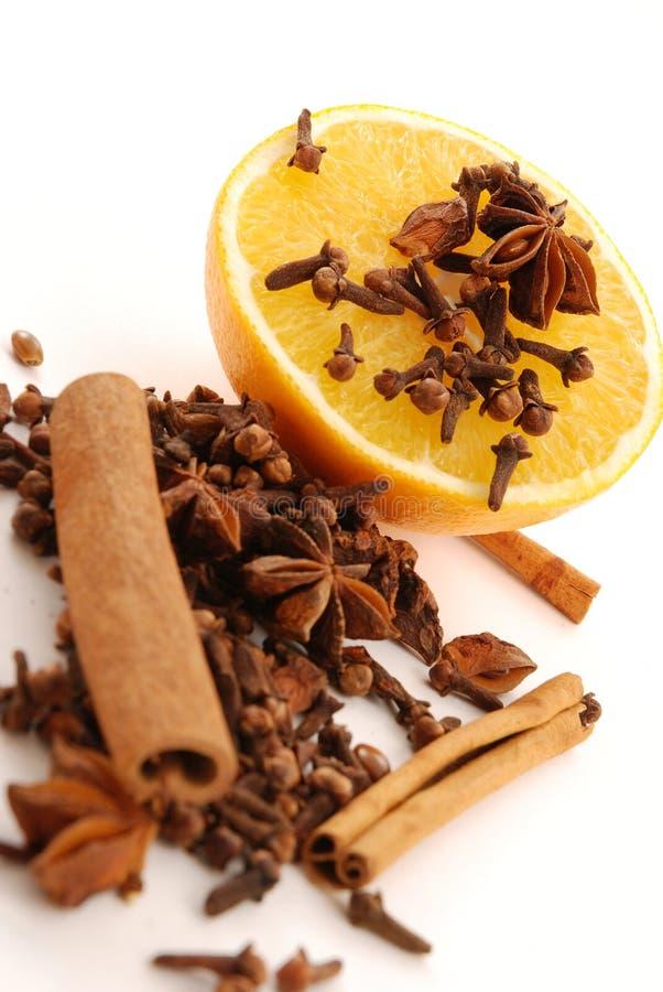 orange krydda fotografering för bildbyråer