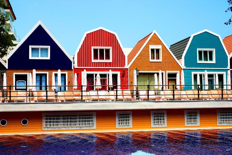 Orange Land des Hotels (Amsterdam) in der Türkei stockbild