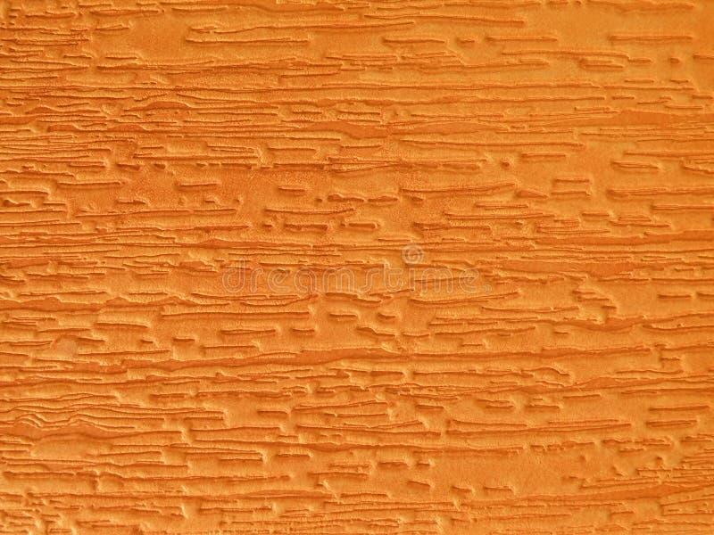 Orange leather texture royalty free stock photos