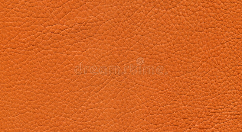 Orange leather royalty free stock images