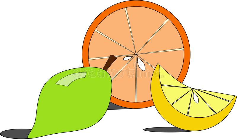 Orange And Lemons Royalty Free Stock Images