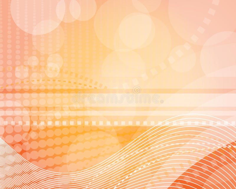 Download Orange light background stock vector. Illustration of brochure - 13797898