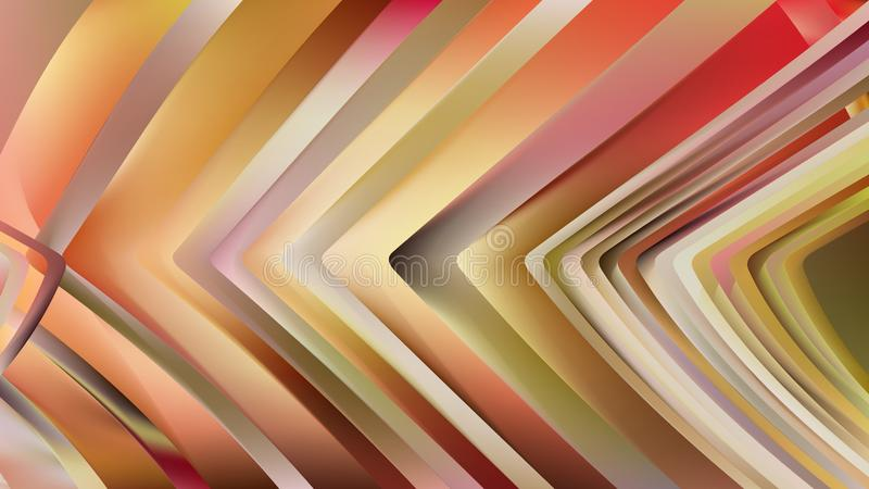 Orange Line Yellow Background Beautiful elegant Illustration graphic art design Background. Image royalty free illustration