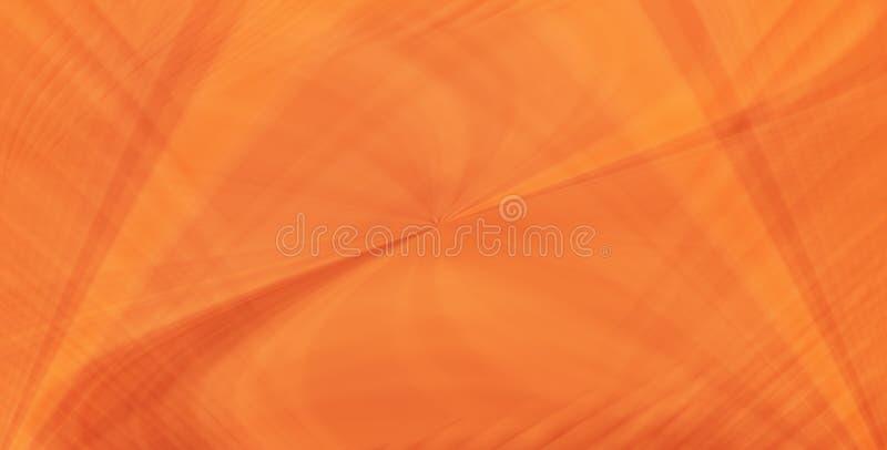 Orange lines royalty free illustration