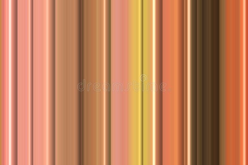 Orange linjer för pastellfärgade rosa färger, abstrakt bakgrund och modell arkivbild
