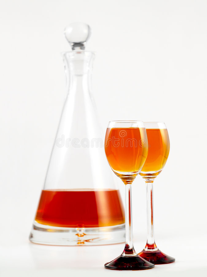 Download Orange liquor stock photo. Image of drink, white, full - 8290320