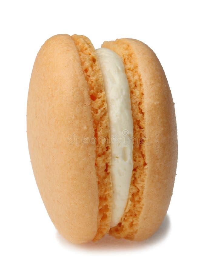 Orange Macaron Stock Images
