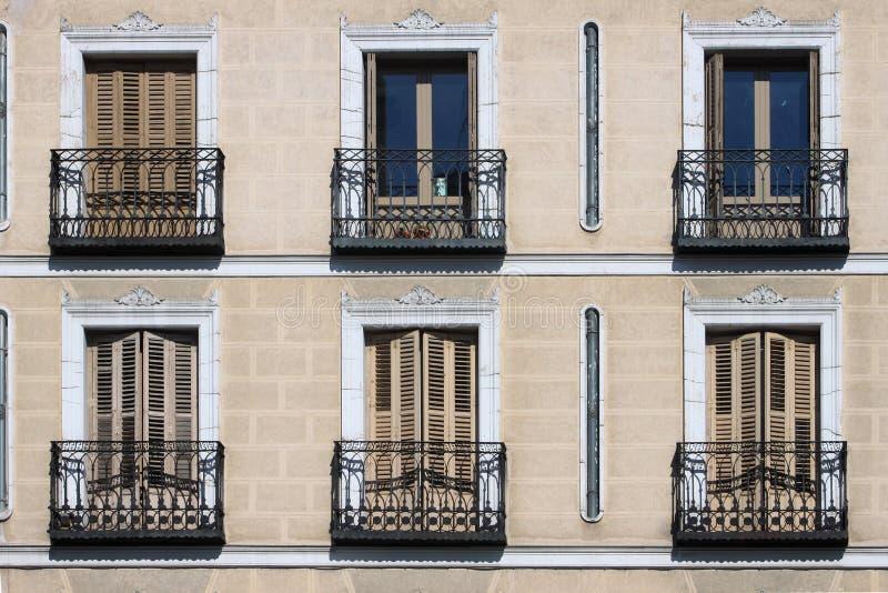 Orange Madrid Building Stock Images