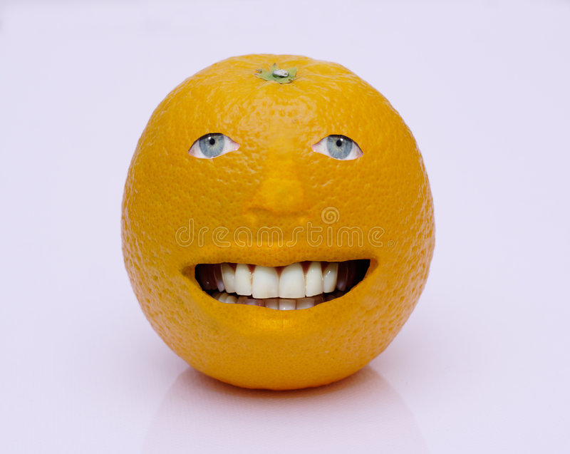 Orange Man Royalty Free Stock Photography
