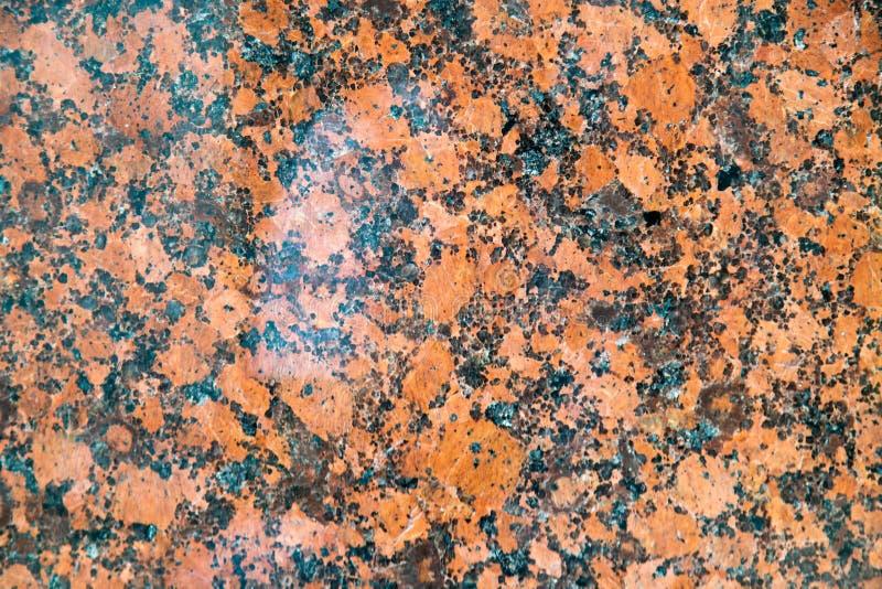 Orange marble stone natural background stock image
