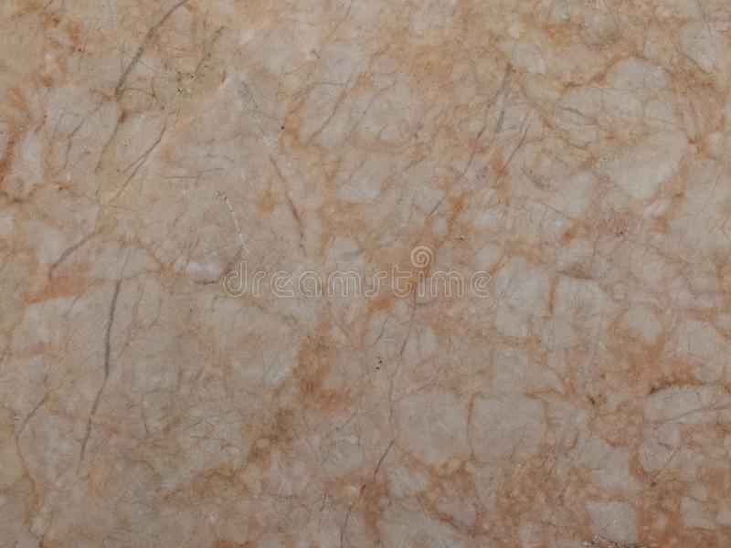 Orange marble texture. Stone background seamless pattern.  royalty free stock photo