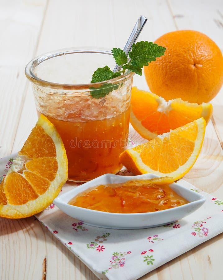 Orange marmalade royaltyfri fotografi