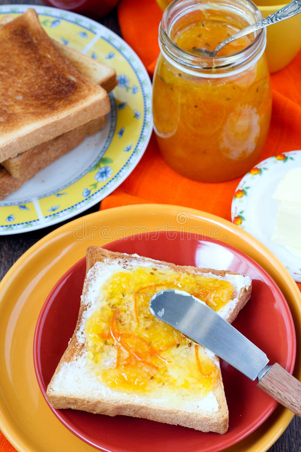 Download Orange marmalade stock photo. Image of served, food, marmalade - 27620354