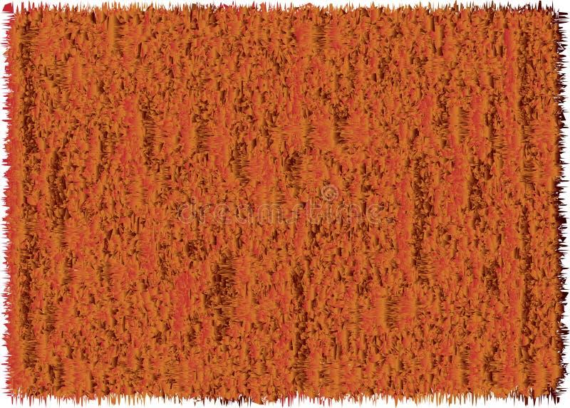 Orange masert ungefähr, Hintergrund stock abbildung