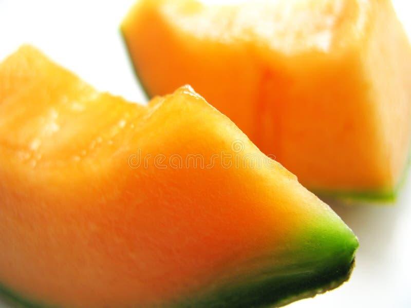 Orange Melone stockfotografie