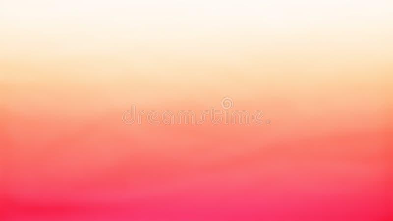 Orange mit der gelben neuen Beschaffenheit gemacht durch Blasenbeschaffenheit und zusätzliche Schicht mit orange Farbe stock abbildung