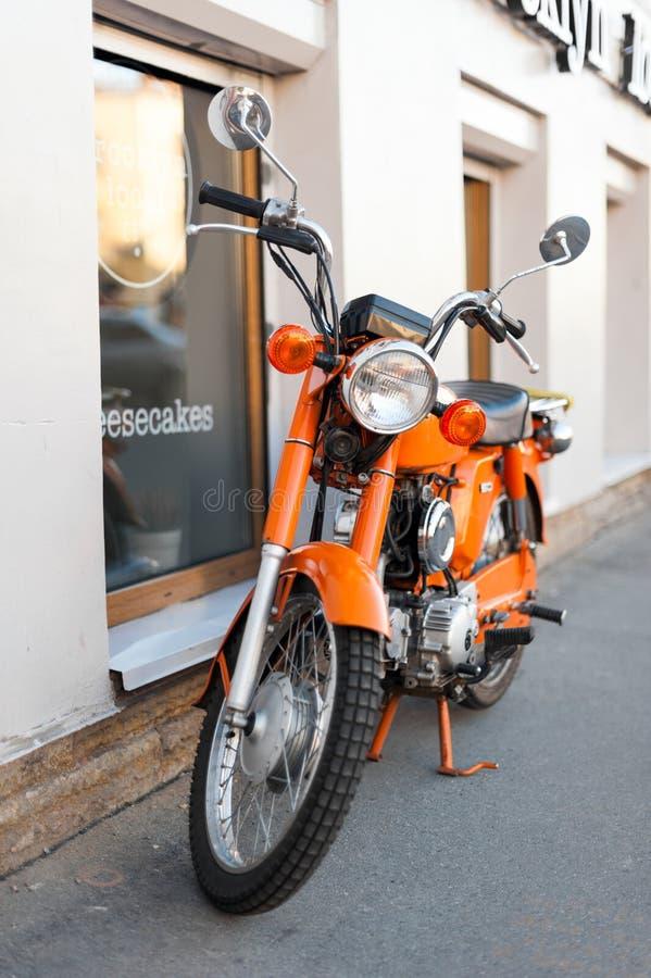 Orange moted photo stock