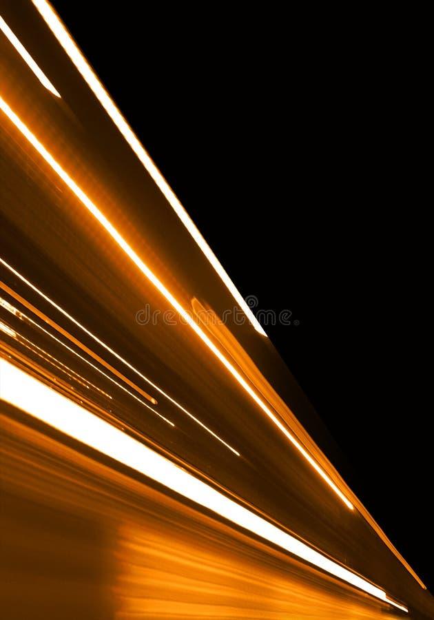 Orange Motion royalty free illustration