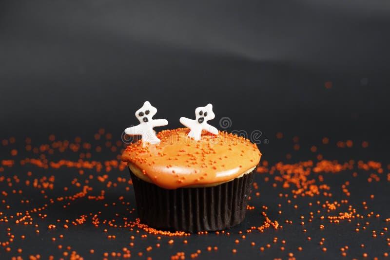 Orange muffinboohoo arkivbilder