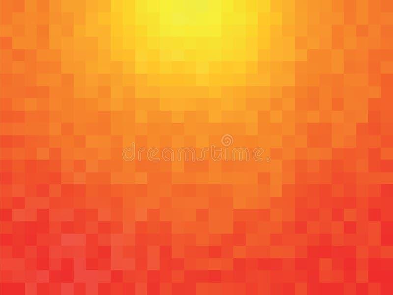 Orange Muster vektor abbildung
